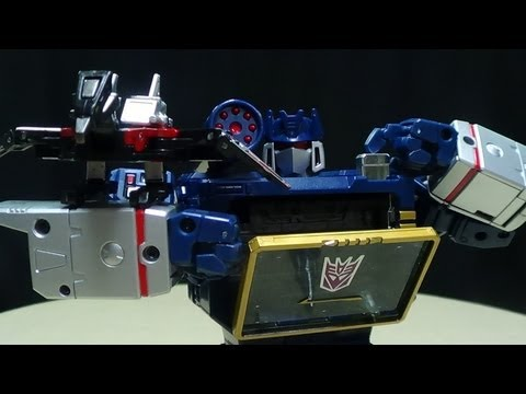 MP-13 Masterpiece SOUNDWAVE w/ LASERBEAK: EmGo's Transformers Reviews N' Stuff