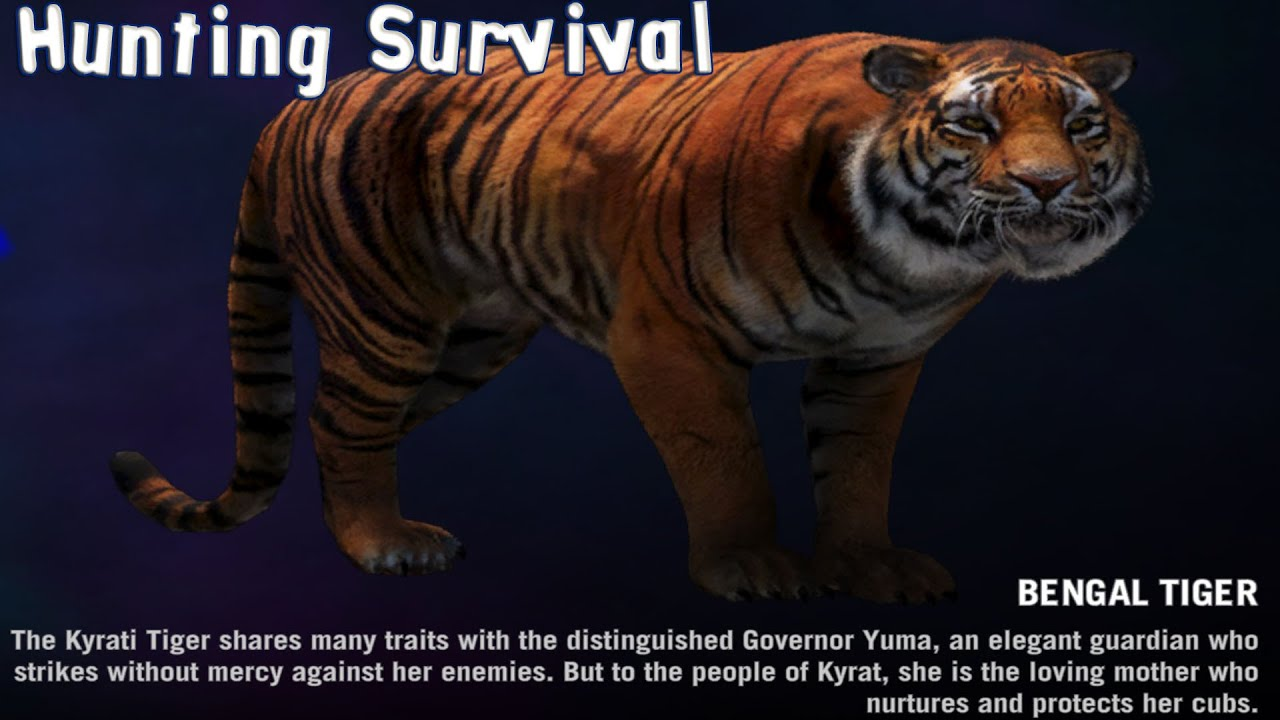 Bengal Tiger Far Cry 4 Far Cry 4 Hunting Survival