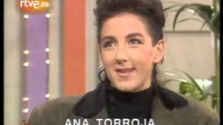 Julia Otero entrevista a Ana Torroja en 3x4 (1989)