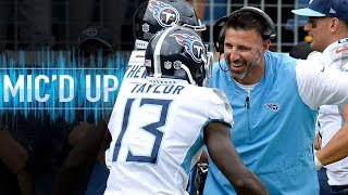 Mike Vrabel Mic'd Up vs. Texans Earning First Career Head Coaching Win | NFL Films