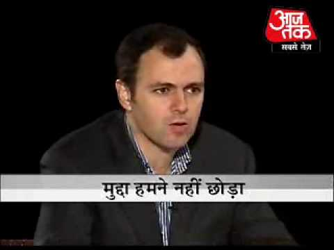 Seedhi Baat - Omar Abdullah (Part 1)