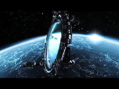 инопланетные электростанции.