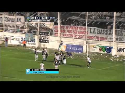 Gol de Desvaux. C. Córdoba (SDE) 2  All Boys 0. Fecha 11. B Nacional. FPT