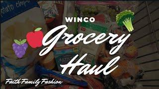 Winco Grocery Haul / #groceryhaul