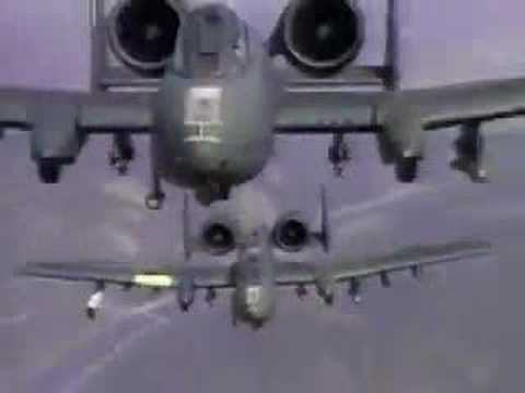A-10 Warthog - Shoot to thrill Video