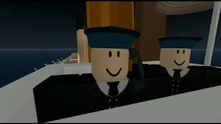 Titanic Iceberg Collision in Roblox (Part 1)