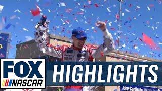 Kevin Harvick Wins Under Yellow | 2017 SONOMA | FOX NASCAR