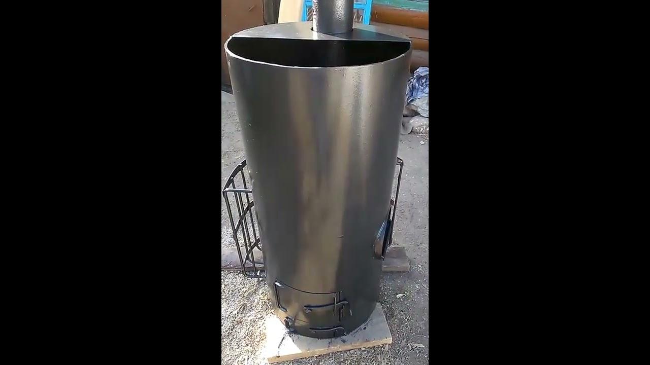 Банная печь из трубы 530 своими руками чертежи