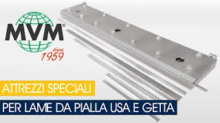 ATTREZZO MECCANICO PER LAME DA PIALLA USA E GETTA-MECHANICAL CLAMPING DEVICE FOR DISPOSIBLE BLADES