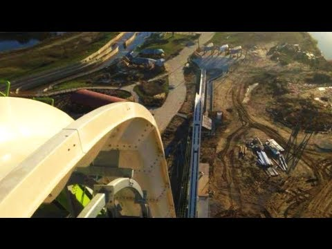 World's tallest and fastest water slide (the Verruckt) is the stuff of nightmares