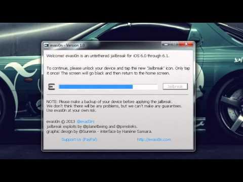Jailbreak Untethred 6.0/6.0.1/6.0.2/6.1 Para Windows