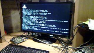 OpenRISC running Linux with framebuffer, AC97 and PS/2 on a Digilent Atlys board