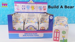 Build A Bear Workshop BAB Mini Bear Plush Blind Bag Opening | PSToyReviews