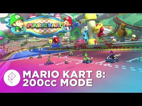 Mario Kart 8 200cc Gameplay: Baby Park 60fps