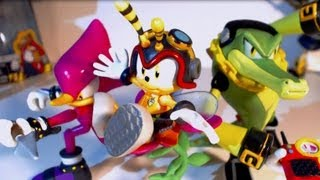 Figure Reviews: Chaotix 3 Pack (With Charmy!) --Jazwares