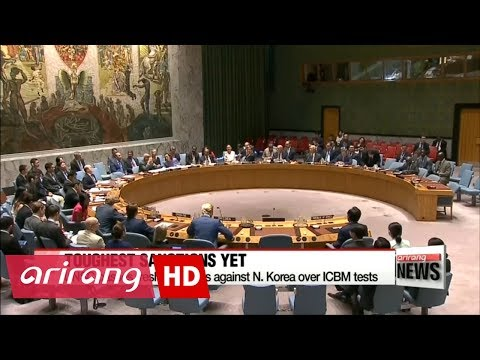 UN Security Council imposes tough new sanctions on North Korea