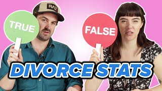 Couples Play True or False: Divorce Statistics