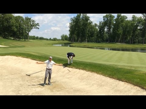 Jordan Spieth replicates his iconic shot from bunker at John Deere