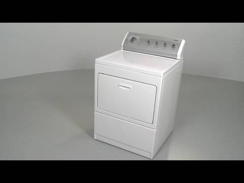 Whirlpool/ Kenmore Dryer with Lint Filter at Door