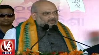 Amit Shah Fires On Odisha CM Naveen Patnaik Over Threatening BJP Leaders