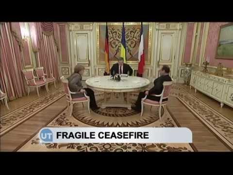 Ukraine Fragile Ceasefire: Poroshenko and Merkel discuss Minsk peace deal violations in east Ukraine