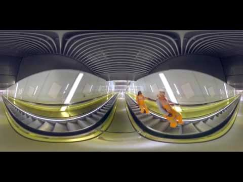 Crossrail Engineering: 360° video of Canary Wharf Crossrail station