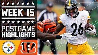 Steelers vs. Bengals   NFL Week 15 Game Highlights