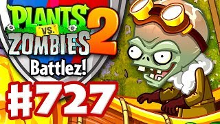 Battlez with Zombot Aerostatic Gondola! - Plants vs. Zombies 2 - Gameplay Walkthrough Part 727