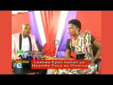 ANGOLA: LUANDA EPELI BASALI YA NZAMBE FACE AUX DIVORCES
