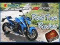 Suzuki GSX S1000   Test Ride And Review (60fps)