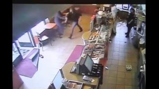 Employee Fight at Tim Hortons