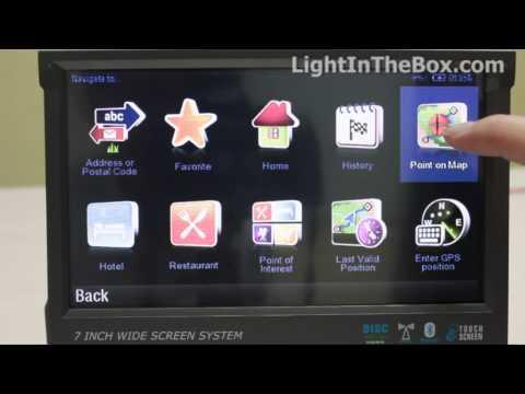 7Digital Screen 1 Din Car DVD Player From LightInTheBox.mp4