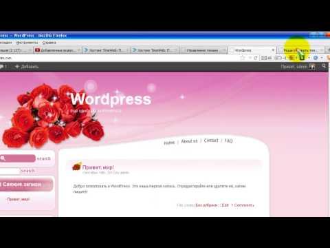 Доработка шаблона WordPress. Настраиваем страницы
