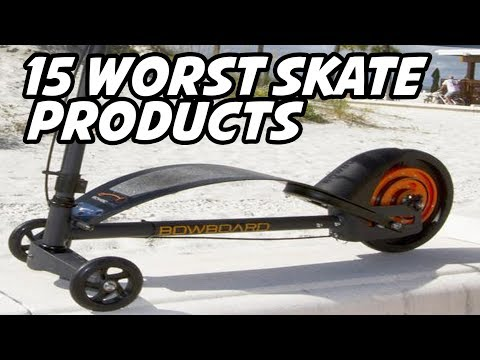 15 WORST SKATE PRODUCTS!! *Failed Kickstarters*