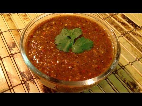 Salsa Roja  de tomatillo y chiles de arbol  receta