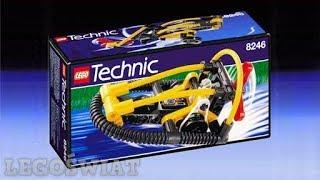 LEGO TECHNIC - Hydro Racer / Swamp Boat (8246)   LegoŚwiat
