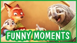 Funny Moments from Disney Family Animated Movies