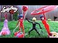 ЛЕДИ БАГ и СУПЕР КОТ Три куклы Супергероя Обзор игрушек Мультик Miraculous Ladybug play toys