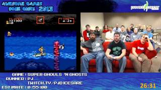Super Ghouls 'N Ghosts - Speed Run in 0:48:32 by PJ live for Awesome Games Done Quick 2013