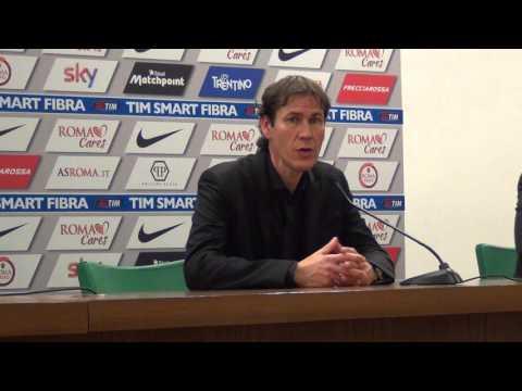 """Roma-Milan 1-1, Rudi Garcia: """"Secondo tempo tutto sbagliato"""""""