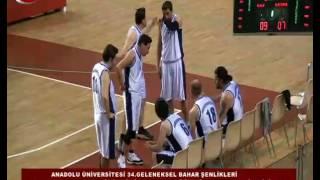 Anadolu Üniversitesi Bahar Şenlikleri Basketbol Erkek Müsabakaları