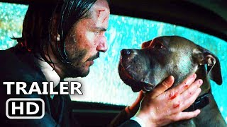 "JOHN WICK 3 ""John gets separated from his dog"" Clip Trailer (2019) Action Movie HD"