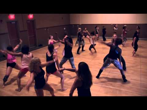 """Atlanta Booty Clap Class"" w/ Torwa Joe (Midwest Pole Dance Competition 2013)"