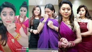 Sunday Galatta Sun Tv Show Latest TikTok Tamil Dubsmash | Swetha | Nancy Jennifer