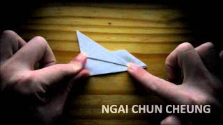 Origami Paper Airplane (tutorial)