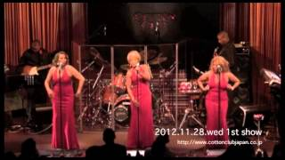 Three Degrees @ Cotton Club Japan (Nov. 28, 2012)