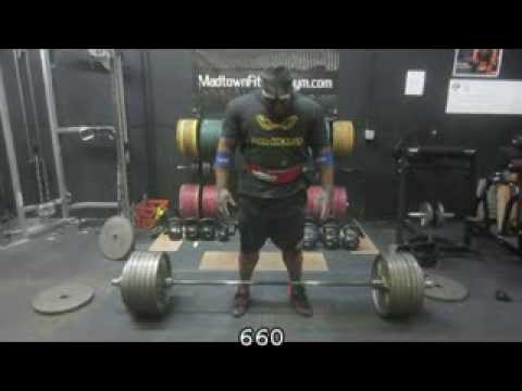 Christmas Eve Deadlift Training with David