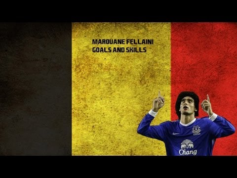 Marouane Fellaini - Skills and Goals - The Beast