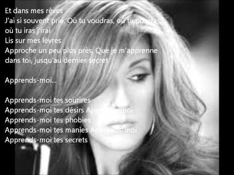 Celine Dion - Apprends-Moi