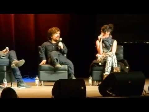 Peter Dinklage & Lena Headey Panel at the Calgary Comic Con #2